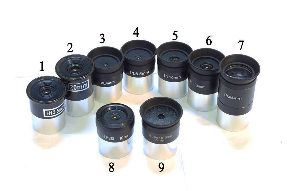 Thị kính Plossl 12,5mm..