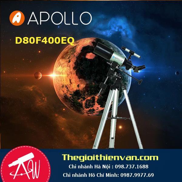 Kính thiên văn khúc xạ 80F400EQ-1