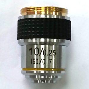 Vật kính hiển vi 10x