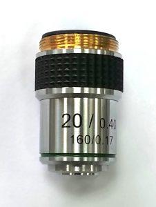 Vật kính hiển vi 20x