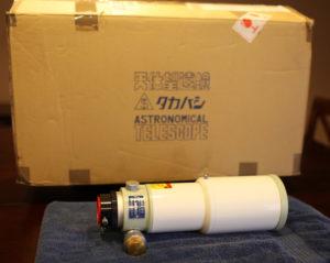 Kính thiên văn Takahashi Sky 90 II – 3.5″ Fluorite APO